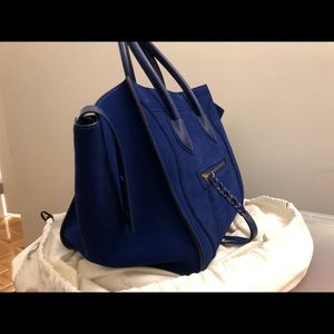 celine phantom royal blue